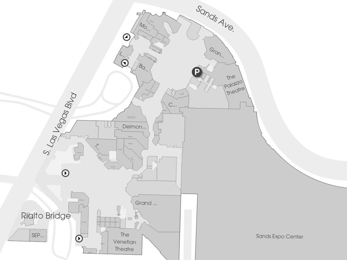 Grand Canal Shoppes Map Pictures To Pin On Pinterest PinsDaddy - Map of las vegas venetian
