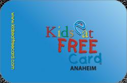 Kids Eat Free Card Anaheim / Orange County