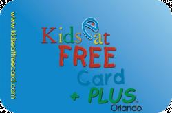 Kids Eat Free Card +PLUS - Orlando